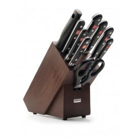 Bloc couteaux 9 pièces Classic