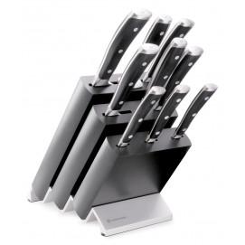 Bloc couteaux avec 9 pièces Classic Ikon